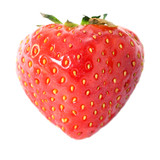 Bright ripe strawberry