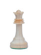 The queen. Wooden chess piece