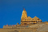Temple of Lord Shiva Somnath in Somnath, Gujarat poster