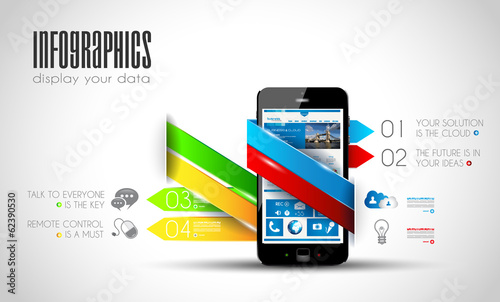 Original Style Infographics Templates to display your data..