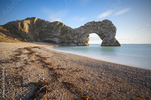Poster Durdle Door Dorset, Jurassic Coast, UK.