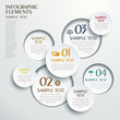 abstract circle tag infographics