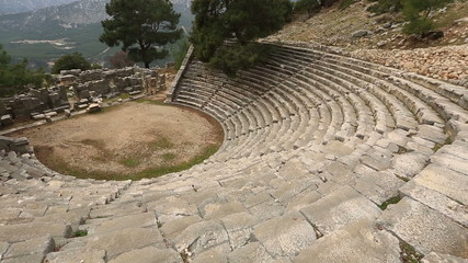 5th or 6th century BC Ancient Arycanda(amphitheather)