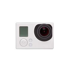 Hangzhou,China-January 26,2014: GoPro HERO3+ Black Edition isola