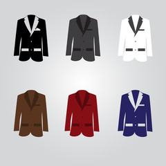 variation of suits eps10