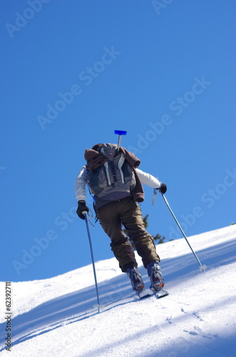 ski de randonnée - ascension