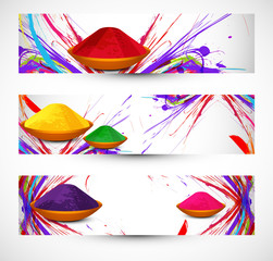 abstract gulal background colorful holi festival header and bann