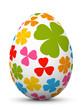 Osterei, Ei, Ostern, Muster, Klee, Easter Egg, Design, Shamrock