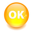 bouton internet ok icon orange