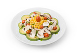 Veggies Salad with Avocado