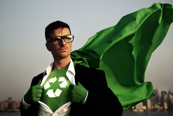 Superhero of Green Business