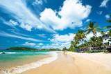 Fototapety beach landscape in Sri Lanka