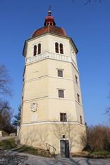"""Die """"Liesl"""", der Glockenturm auf dem Grazer Schloßberg"""