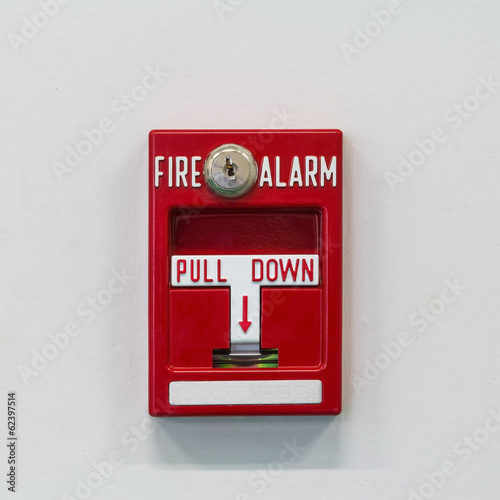 Fire alarm pull switch