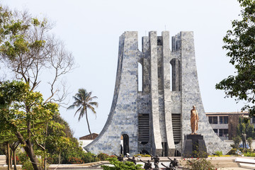 Nkrumah Memorial Park, Accra, Ghana