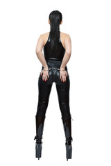 Sexy dominatrix back
