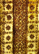 Golden pattern art background
