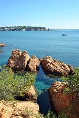 Costa Brava beach in Spain