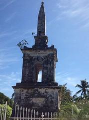 Монумент Колумбу на острове Мактан