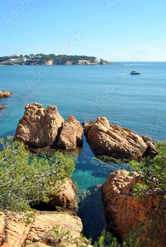 Costa Brava beach in Spain