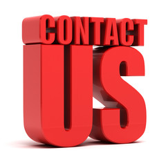 Contact us 3d - Support Service