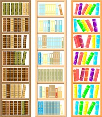 Set of bookcases