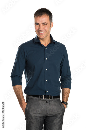 Happy Smiling Businessman