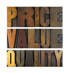 Price Value Quality