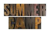 Fototapety Summer Camp