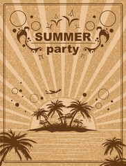 summer party insel tour