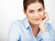 Business woman portrait . Close up