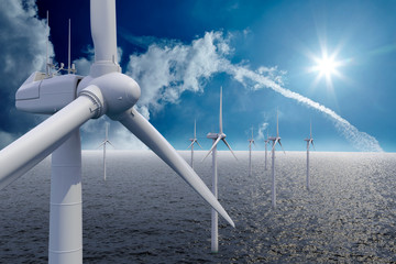 Wind power offshore