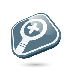 vergrößern symbol modern icon zoom