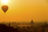 Sunrise silhouette of Bagan - Myanmar
