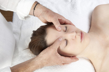 meridian facial stress relief