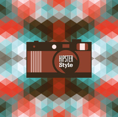 Hipster background.
