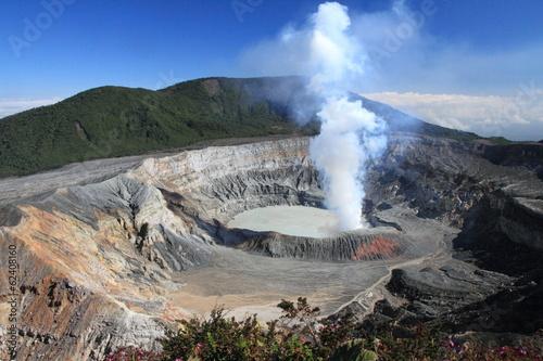 Papiers peints Montagne COSTA RICA Volcan Poas