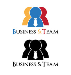 Business man logo
