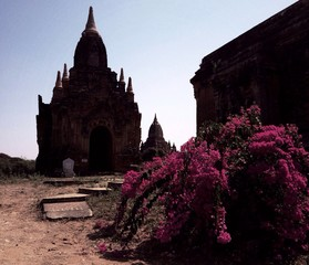 temples of Bagan in Myanmar