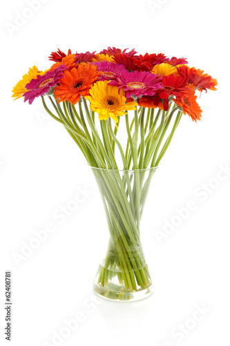 Papiers peints Gerbera Colorful bouquet of Gerber flowers