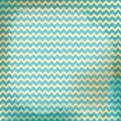 vector chevron background on linen turquoise canvas texture.