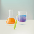 Chemistry Equipment Vector Illustration