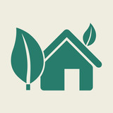 Ecology Icon. Flat Design. Vector EPS 10.