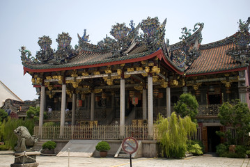 Khoo Kongsi, Georgetown, Penang, Malaysia