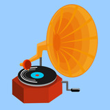 Old Record Player -gramophone