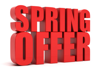 Spring Offer - Discount Price