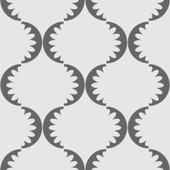 Seamless wallpaper gray pattern