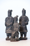 Small figures of terracotta warriors