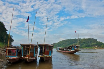 Transportation on Mekong River