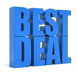 Best Deal 3d Text